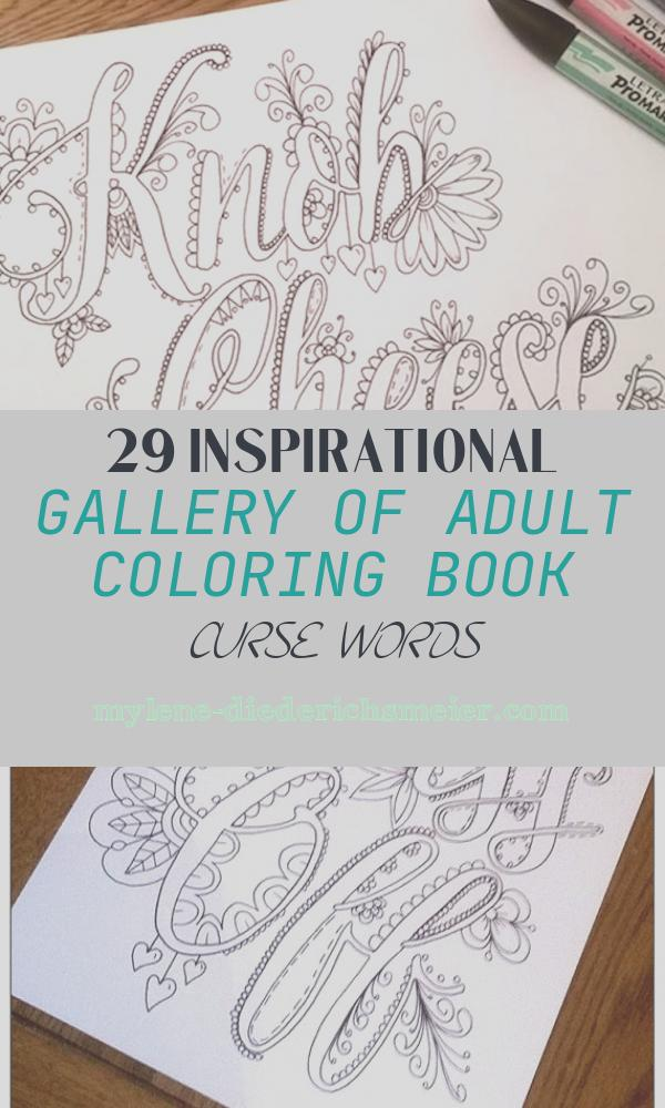 Adult Coloring Book Curse Words Beautiful This Coloring Book Of British Curse Words Would Make A