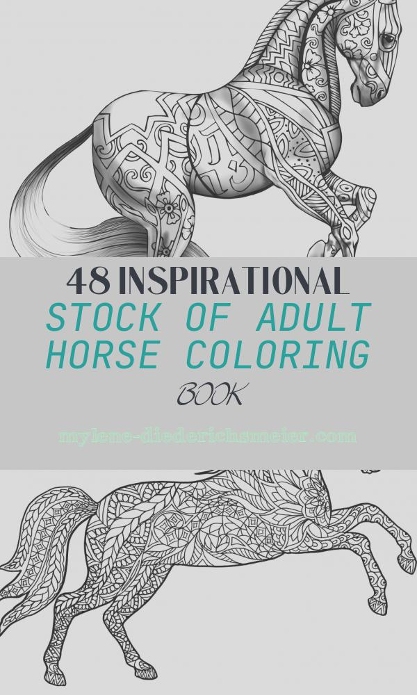 Adult Horse Coloring Book Elegant Horse Coloring Pages for Adults Best Coloring Pages for Kids