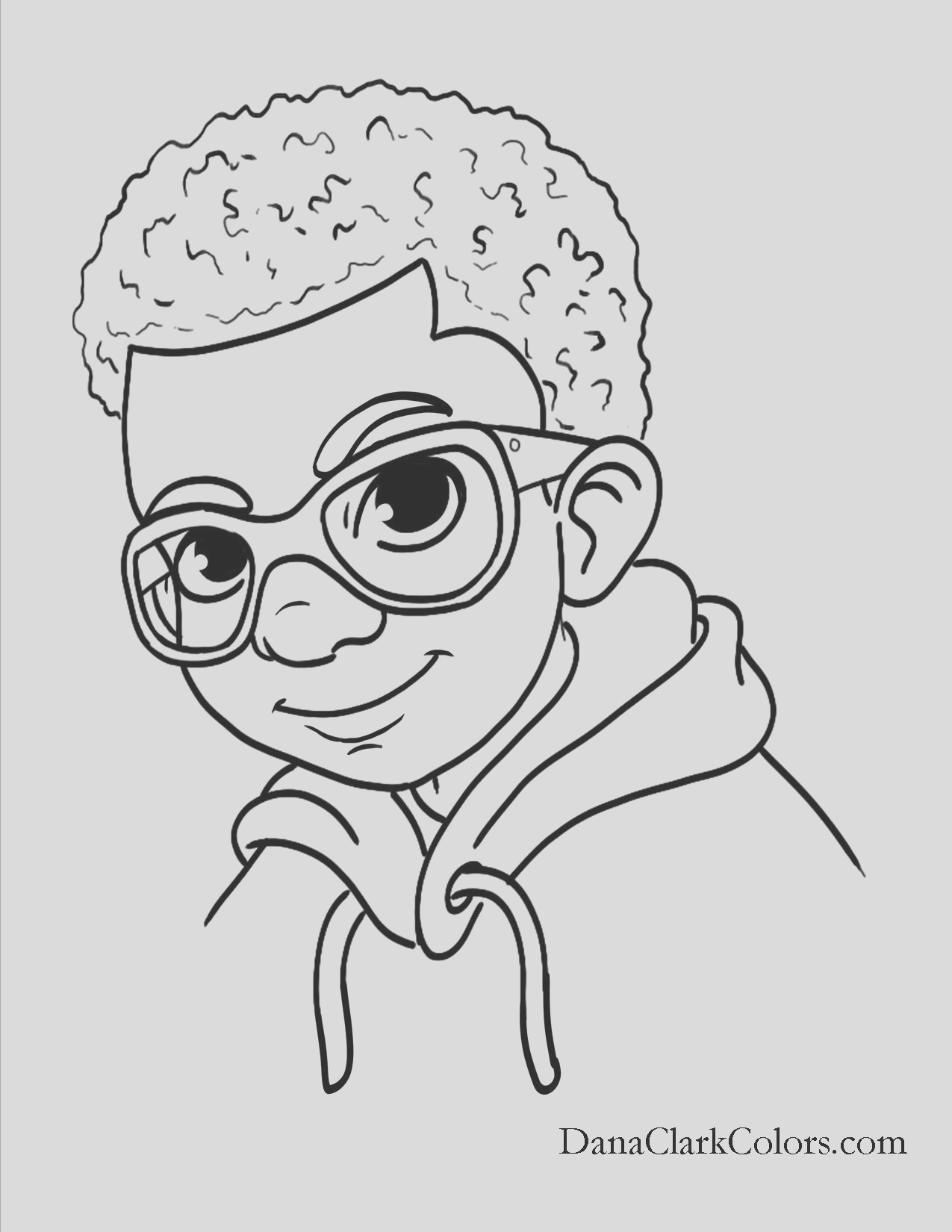 afro coloring pages