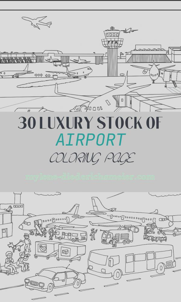 Airport Coloring Page New Airport Colouring Page Image