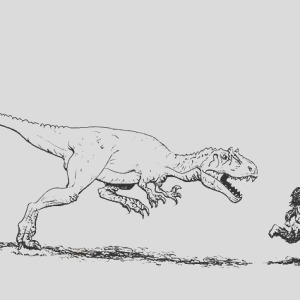 the neander ed by allosaurus coloring page