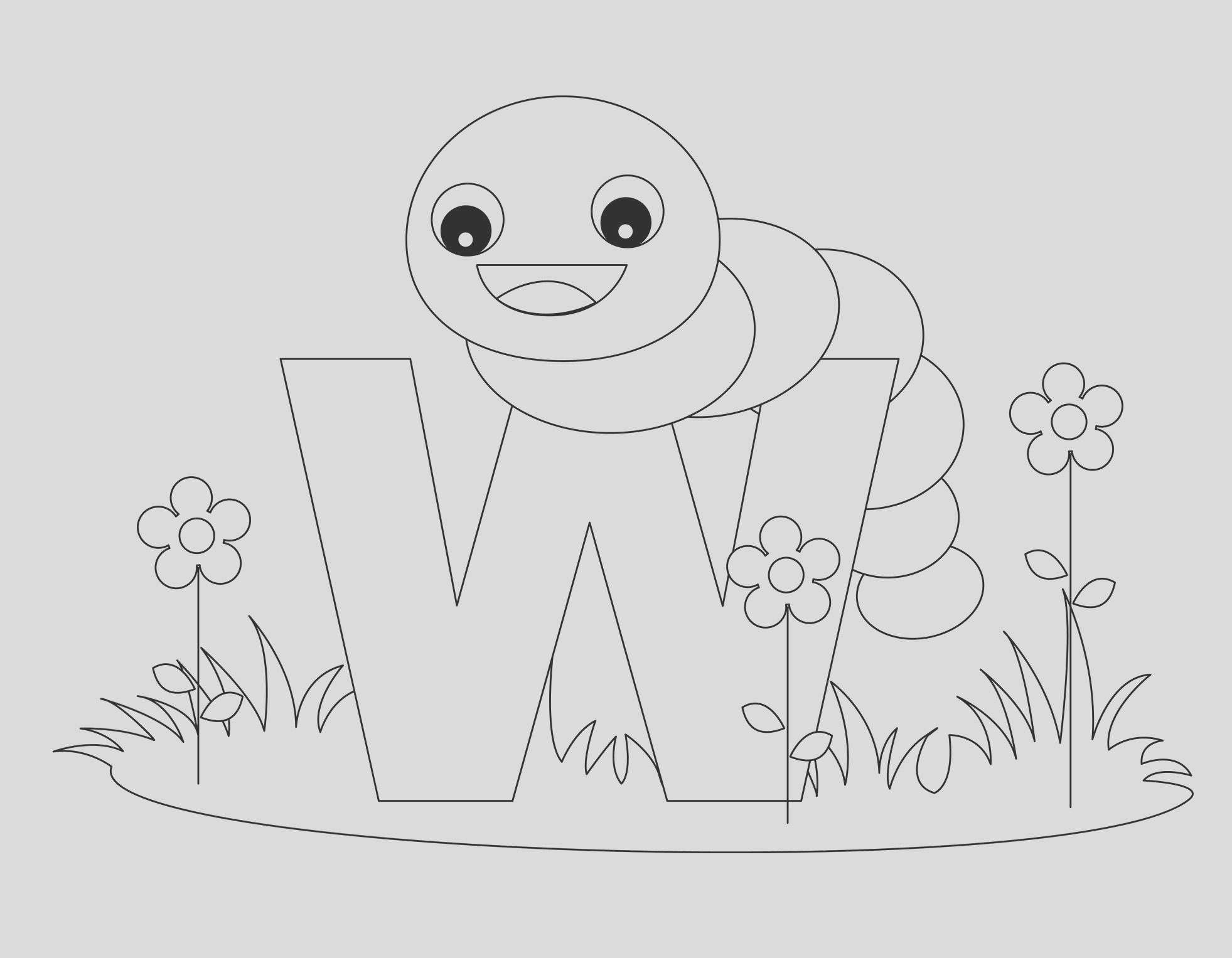 free printable alphabet coloring pages kids