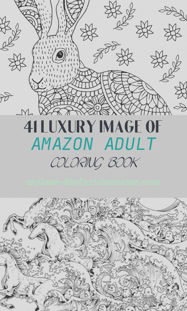 Amazon Adult Coloring Book Unique Amazon Woodland Friends Portable Adult Coloring Book