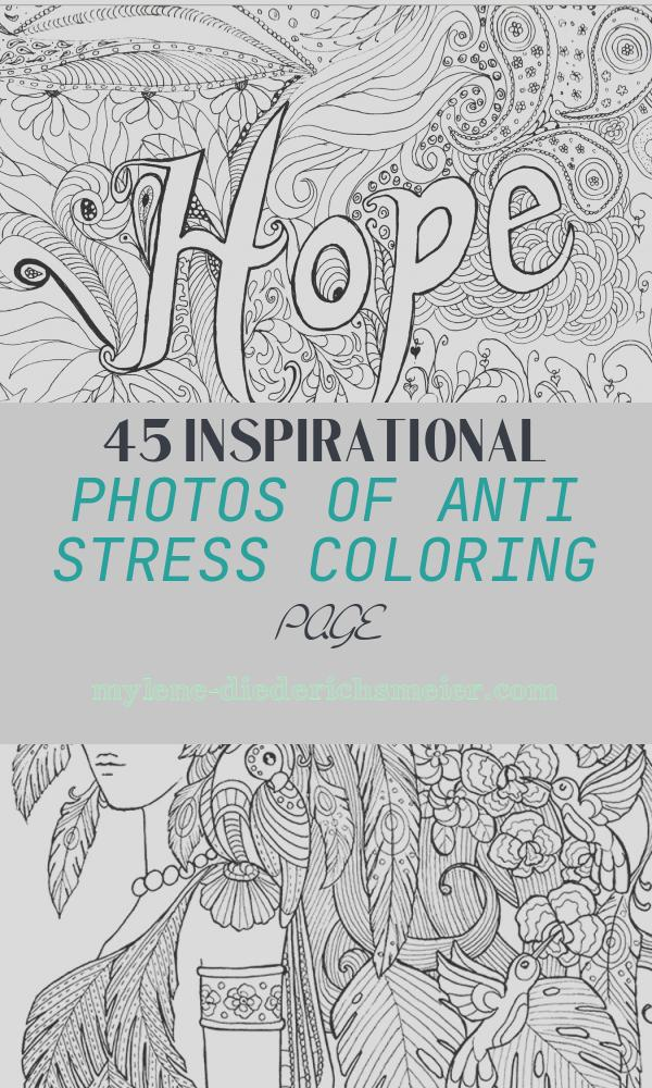 Anti Stress Coloring Page New Hope Anti Stress Adult Coloring Pages
