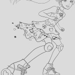 barbie video game hero coloring pages 1012