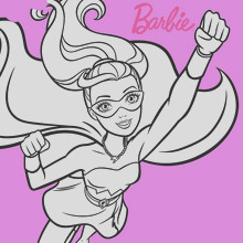 barbie super power saves the day