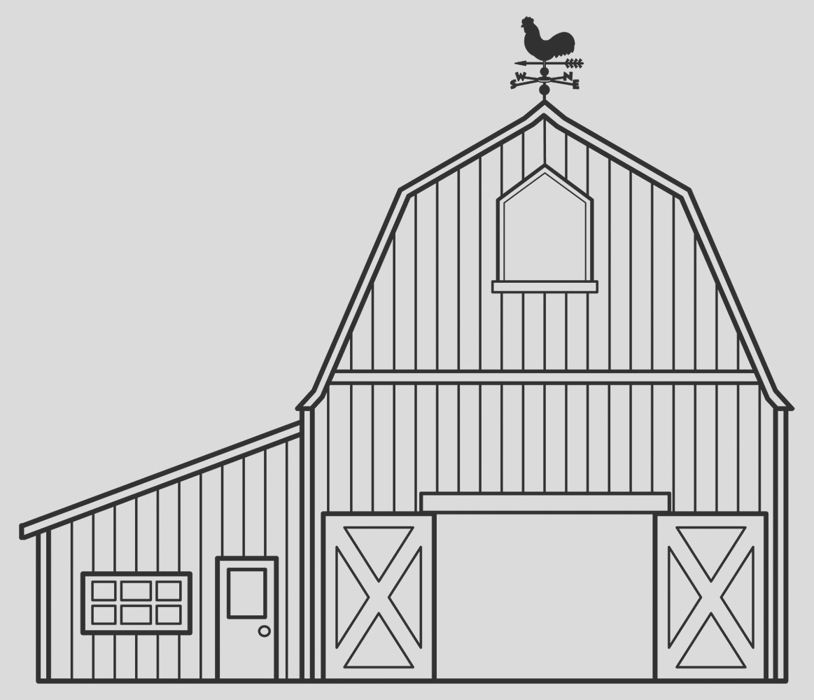 useful pictures barn coloring pages proper intended kids adults