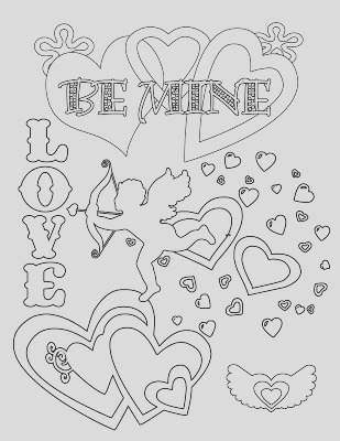free printable happy valentines day coloring pages for adults preschool teachers