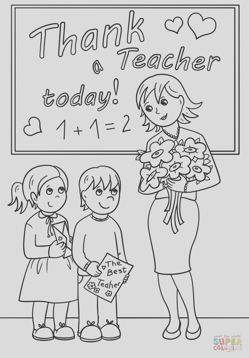 thank a teacher today