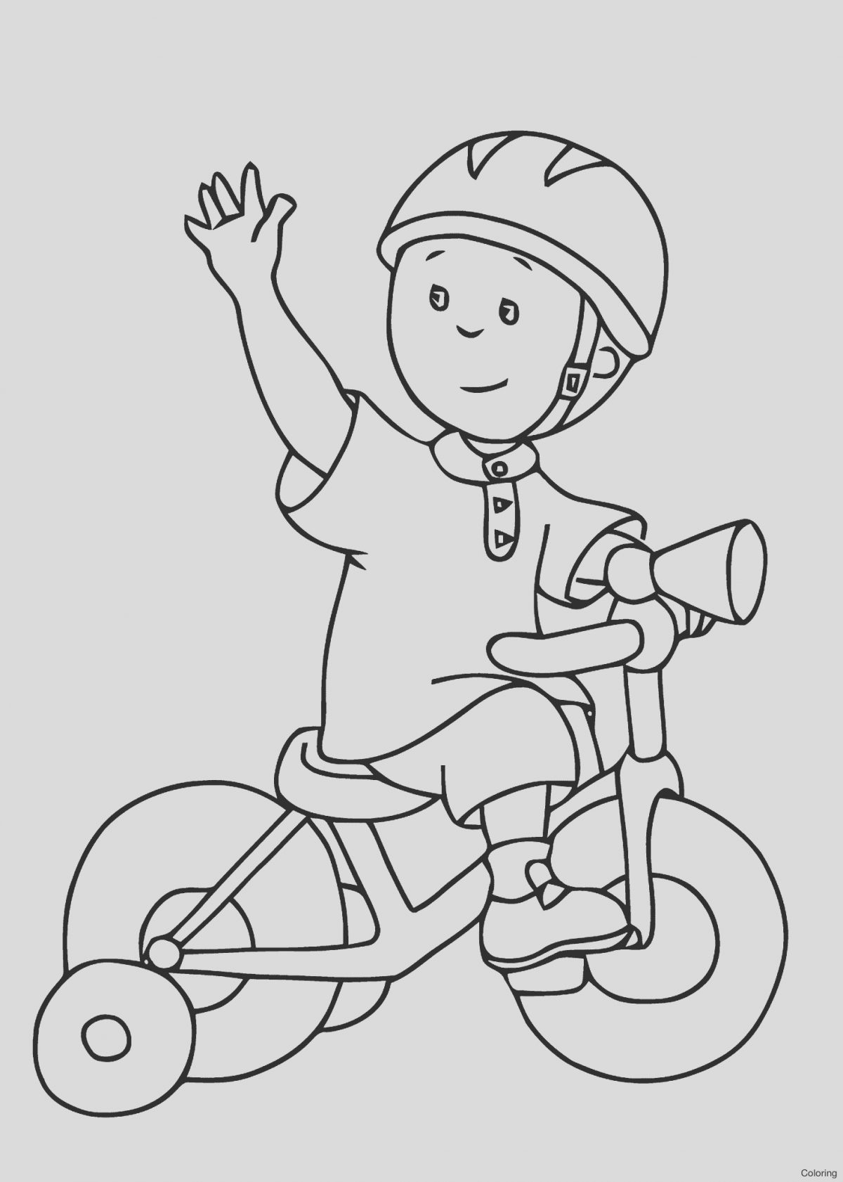 Bike Coloring Book Elegant Kids Bike Drawing at Getdrawings