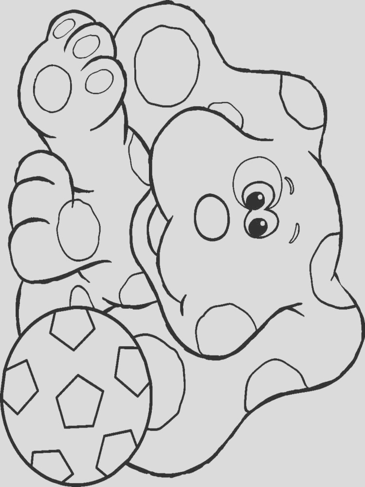 blue s clues coloring pages