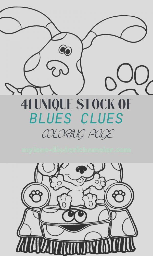 Blues Clues Coloring Page Elegant Free Printable Blues Clues Coloring Pages for Kids