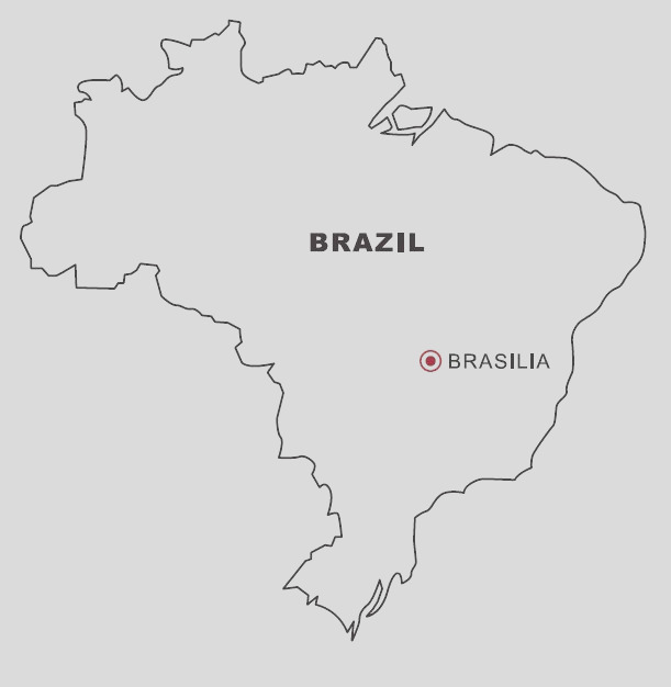 map of brazil coloring
