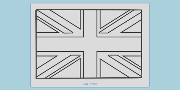 t m 477 union jack colouring poster