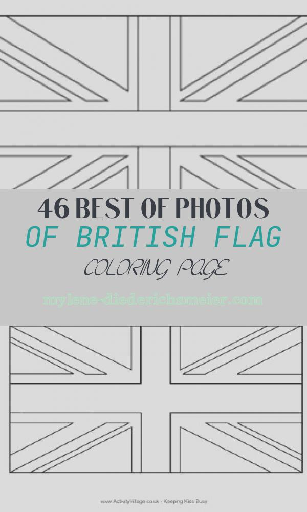 British Flag Coloring Page Unique Flags Of the World Union Jack Kidspot