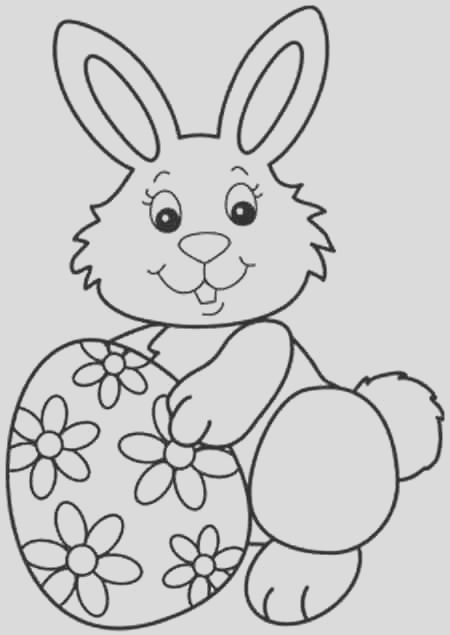 35 best easter bunny coloring pages