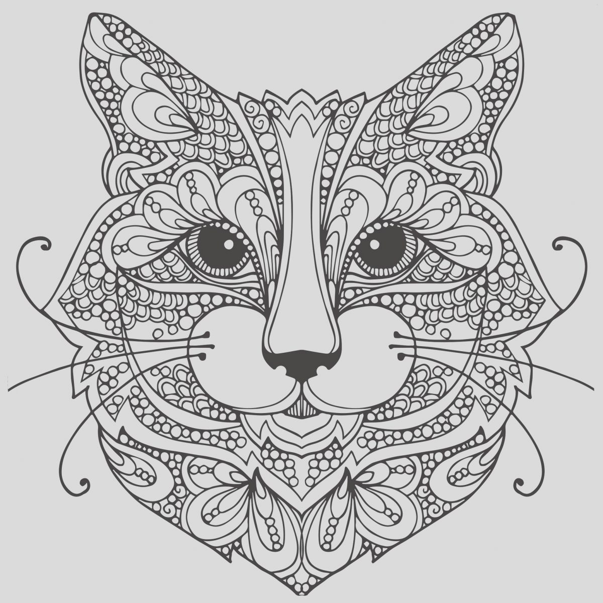 Cat Adult Coloring Page Luxury Adult Coloring Pages Cat 1 Coloring Pages