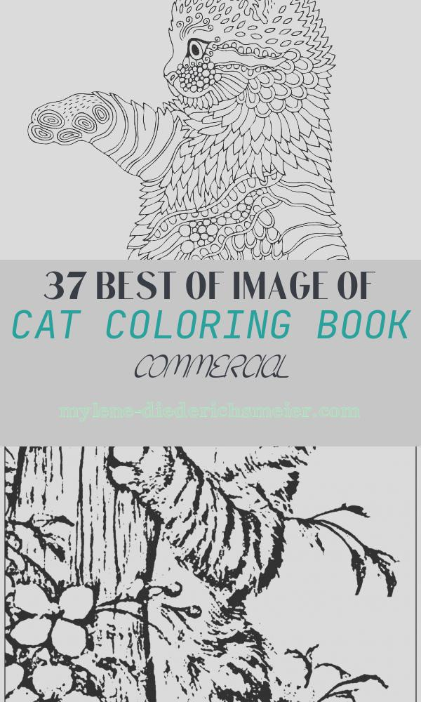 Cat Coloring Book Commercial Beautiful Cat Coloring Books Mandala Coloring Cat Cat Mandala
