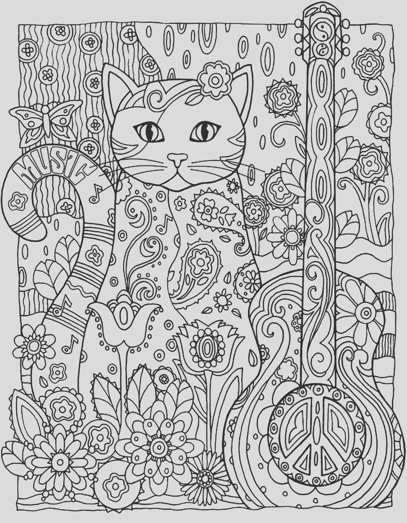 image=cats Coloring for kids cats 1