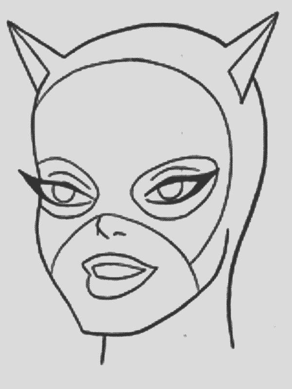 batman and catwoman coloring pages