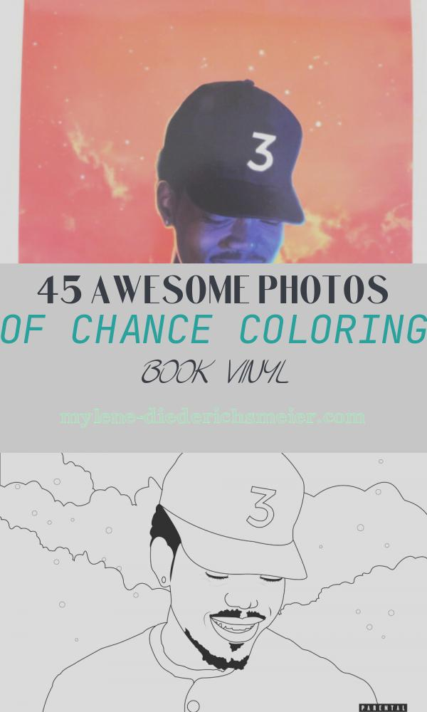 """Chance Coloring Book Vinyl Lovely Chance the Rapper Coloring Book 2lp Vinyl 12"""" Record"""