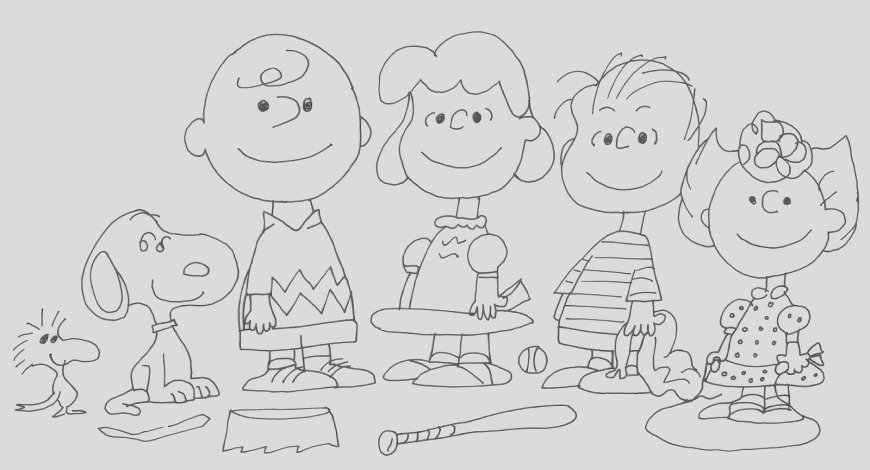 25 best image of peanuts coloring pages