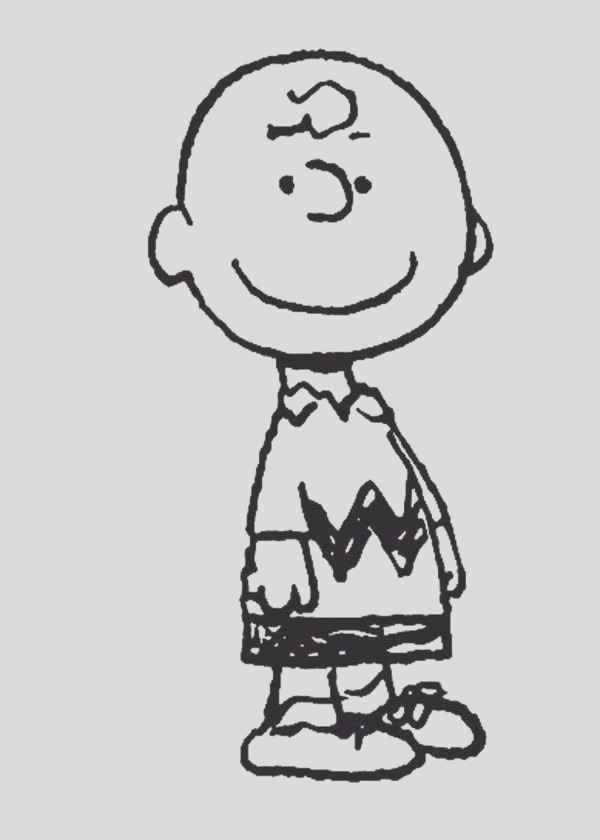 charlie brown characters coloring pages