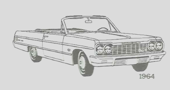 early classic chevrolet coloring book pages
