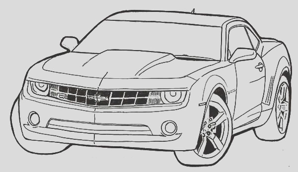 69 camaro coloring pages