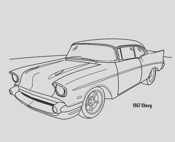 chevy c10 drawing
