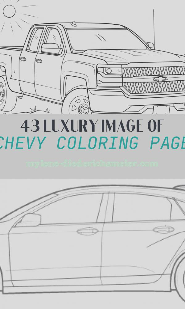 Chevy Coloring Page Unique 2016 Chevy Silverado Double Cab Coloring Page