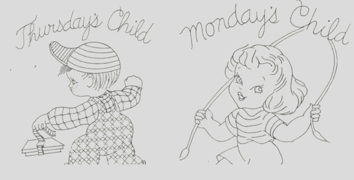 mondays child coloring book not sour and sad