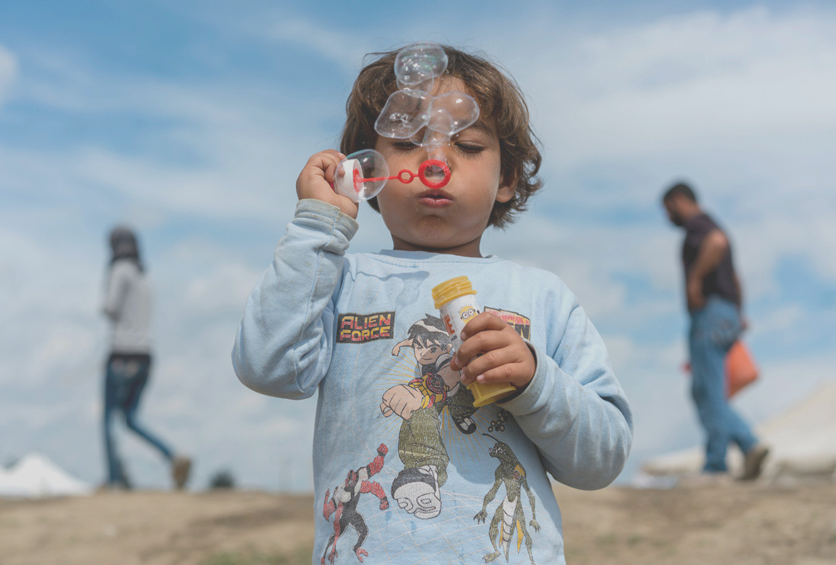 refugee crisis faces some thousands children who have fled conflict zones