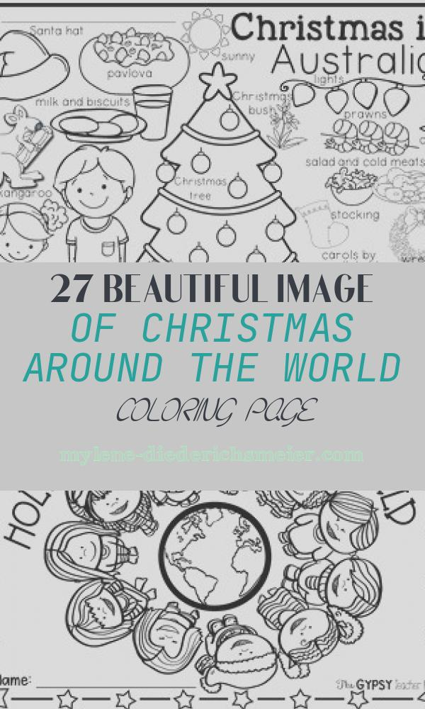 Christmas Around the World Coloring Page Fresh Christmas Around the World Coloring Pages and Vocabulary