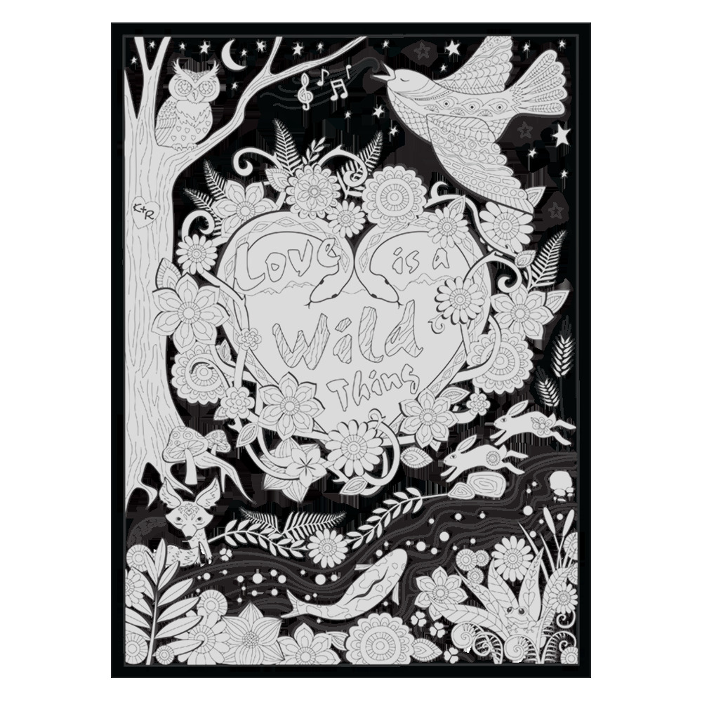 oh what a colorful world coloring book pre order