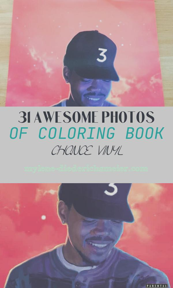 Coloring Book Chance Vinyl Lovely Chance the Rapper Coloring Book Vinyl
