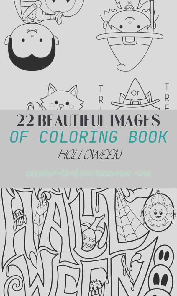 Coloring Book Halloween Elegant Printable Halloween Coloring Books Happiness is Homemade