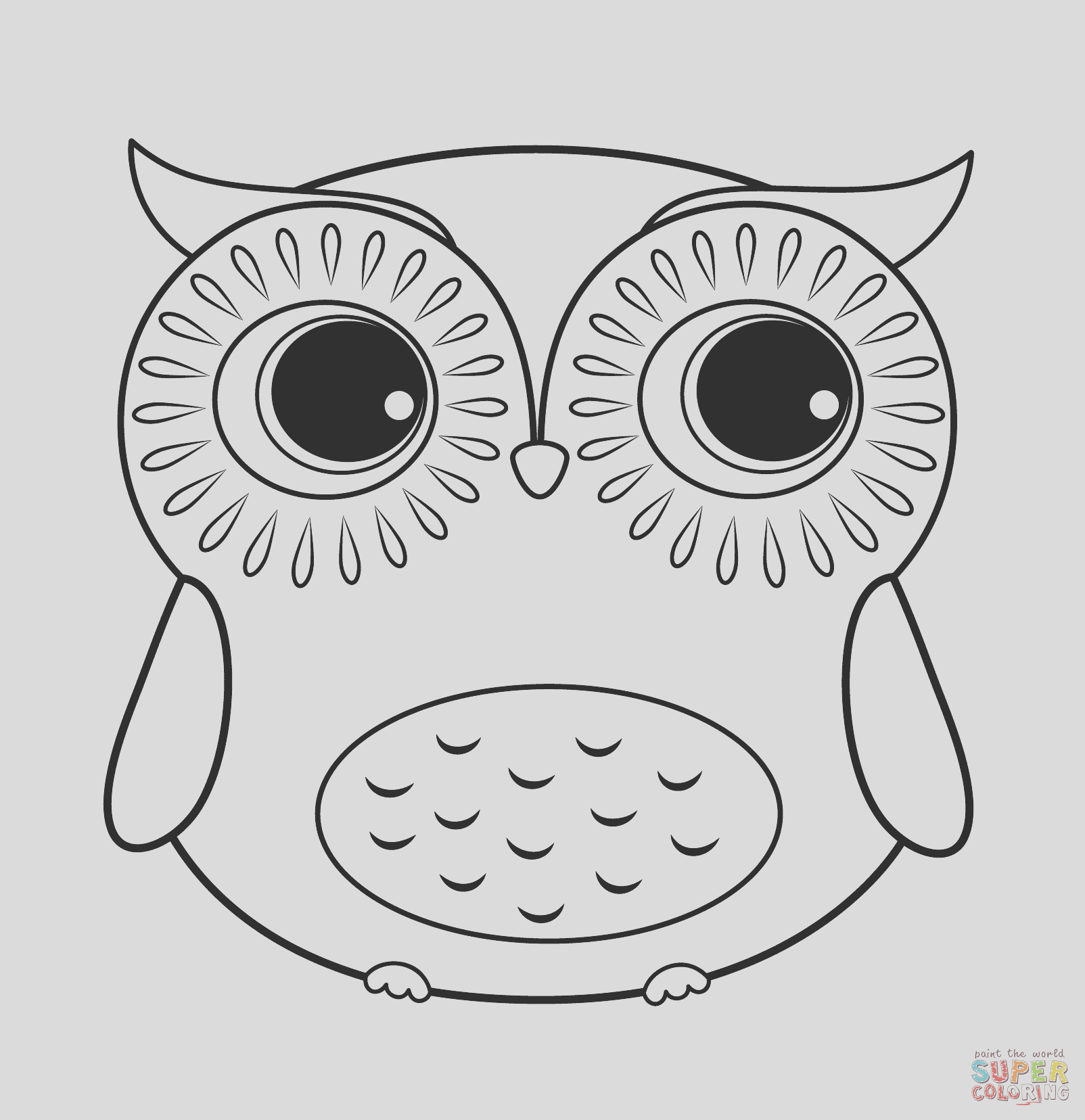 cartoon owl 2