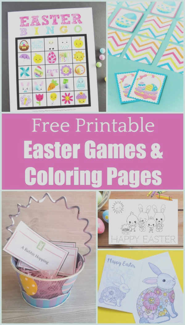 easter games and activities with free printables