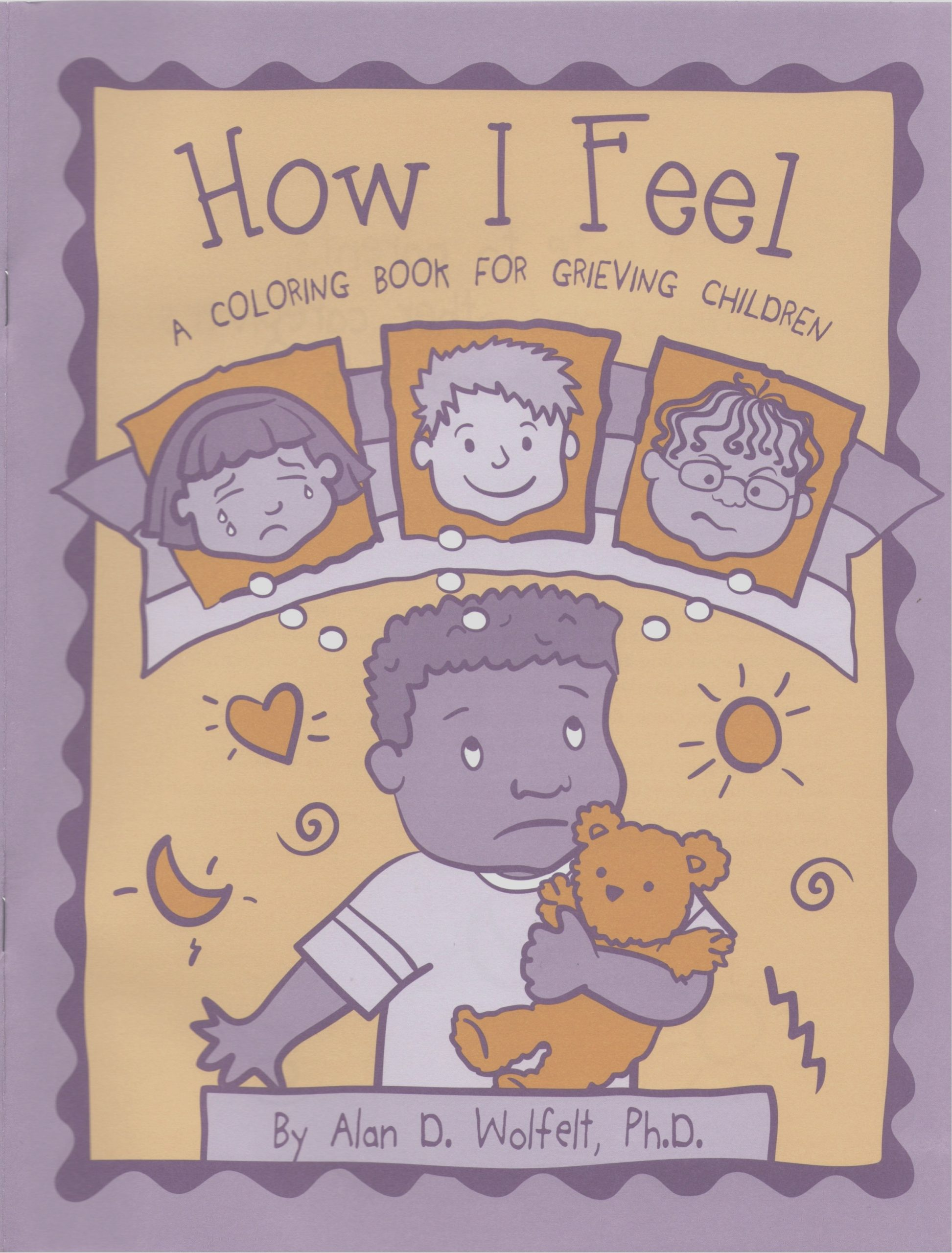 how i feel a coloring book for grieving children