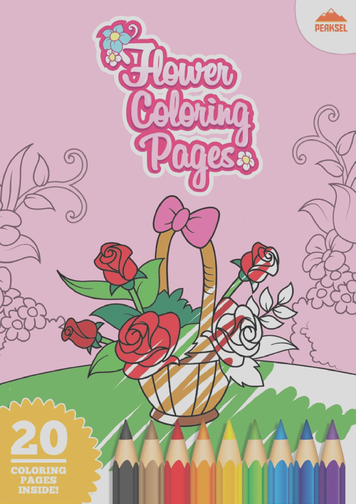 File Flower Coloring Pages Printable Coloring Book For Kids pdf