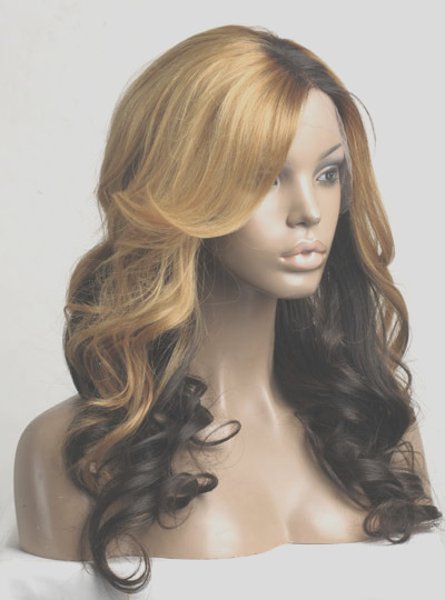 stock ombre color full lace human hair wig nw001s p 5341