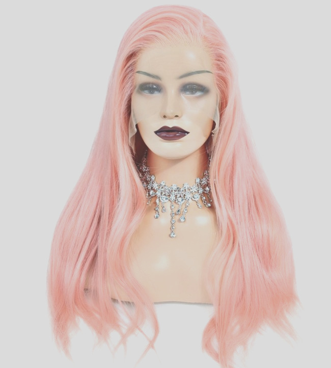 pink lace wig
