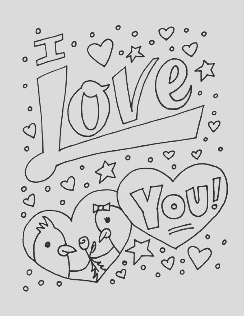 coloring pages for boyfriend