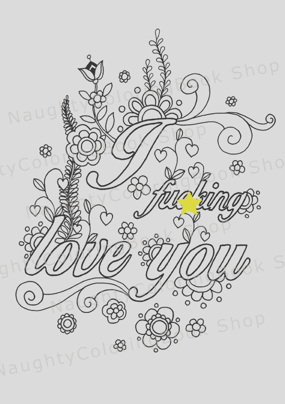 naughty valentine coloring page funny