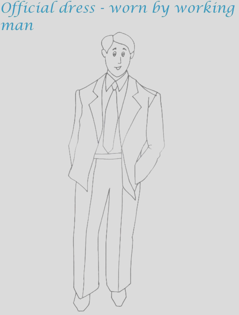 4079 ficial menswear printable coloring page for kids