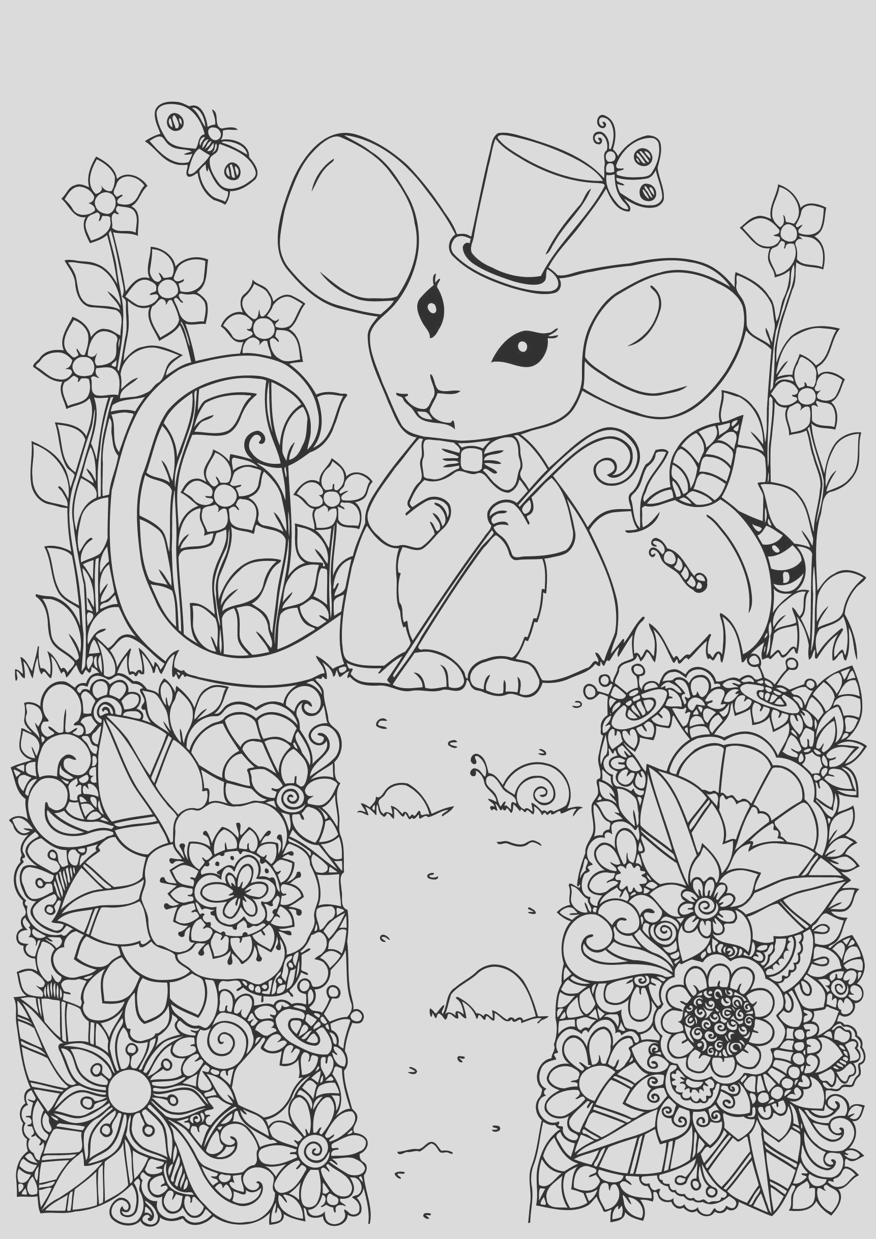 image=mouse coloring pages for children mouse 1