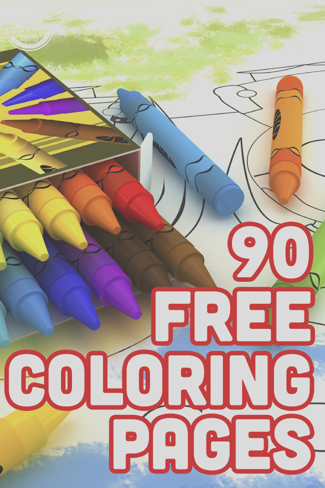 100 coloring pages kids