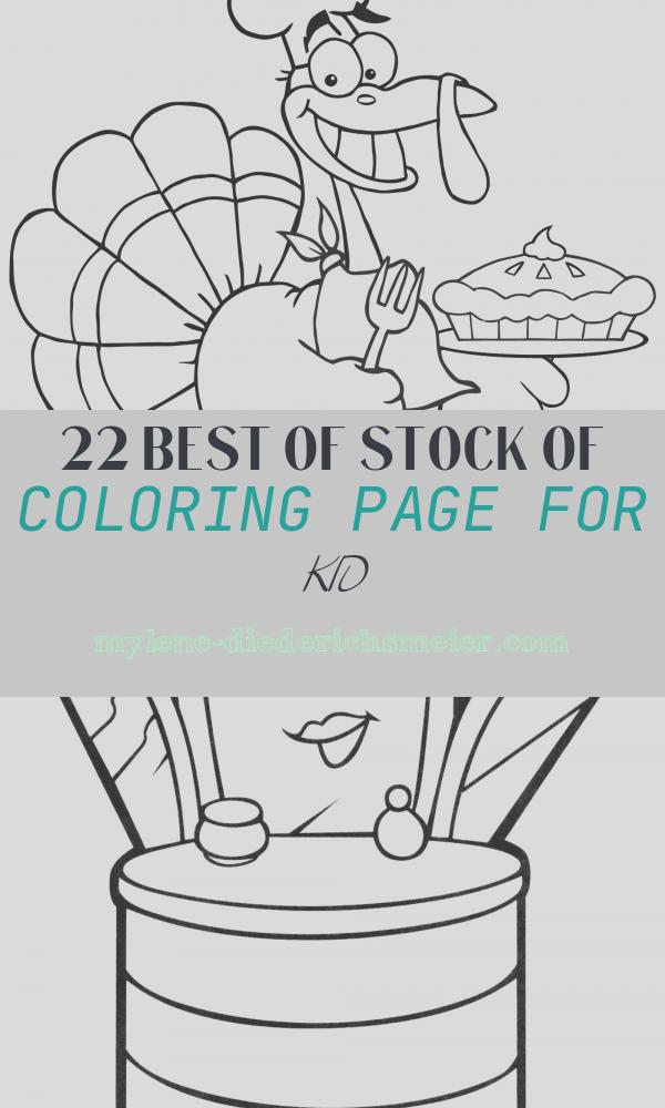 Coloring Page for Kid Fresh Turkey Coloring Pages for Kids