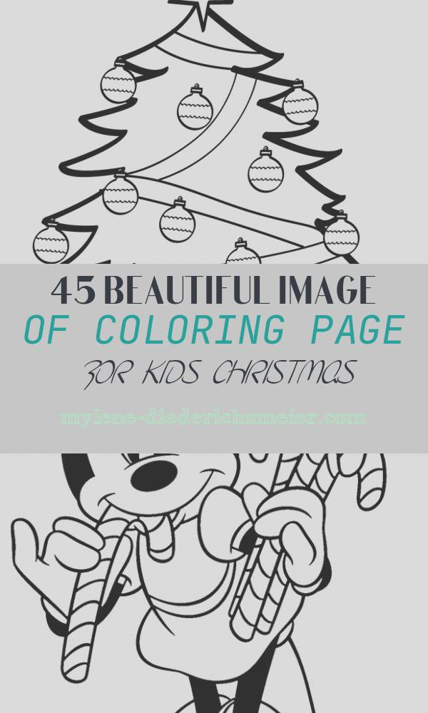 Coloring Page for Kids Christmas Fresh Free Printable Christmas Tree Coloring Pages for Kids